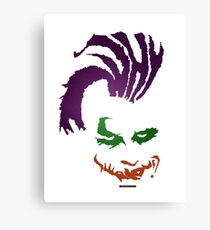 Why So Serious ??! Canvas Print