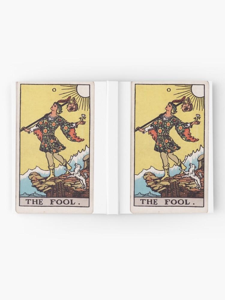 Vista alternativa de Cuaderno de tapa dura El tonto