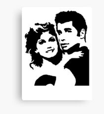 John Travolta Grease Canvas Print