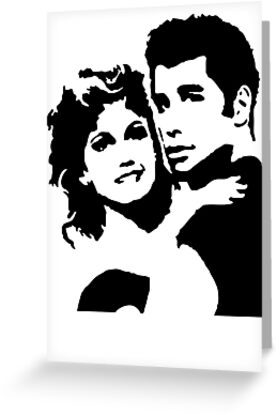 John Travolta Grease by Cinemadelic