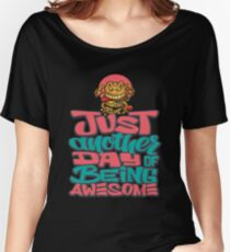 Curse of the Burger / Foodietoon Women's Relaxed Fit T-Shirt