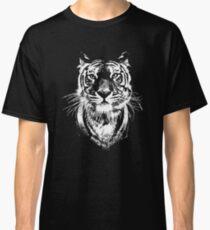 Tiger - Wild cat head Illustration Classic T-Shirt