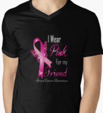 i wear pink for my friend breast cancer T-Shirt