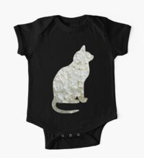 Chat fleurs blanches Kids Clothes