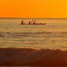 Kayaking at Sunrise by Of Land & Ocean - Samantha Goode