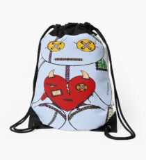 Stuffed Drawstring Bag