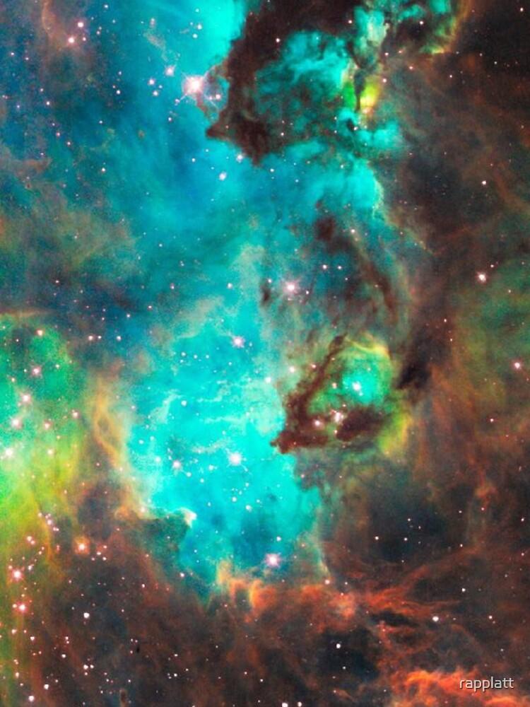 Galaxia verde de rapplatt