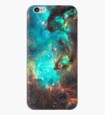 Grüne Galaxie iPhone-Hülle & Cover