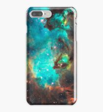 Green Galaxy iPhone 7 Plus Case