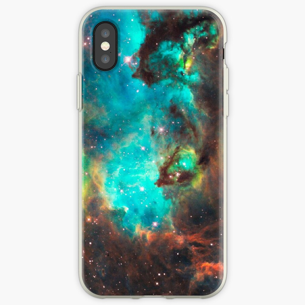 Green Galaxy iPhone Case & Cover