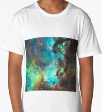 Green Galaxy Long T-Shirt