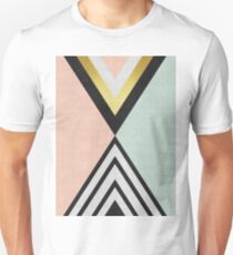 Fashion pattern with gold T-Shirt