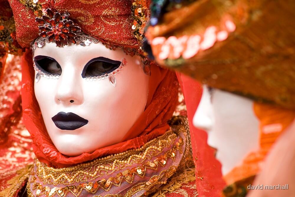 Masked pair 2 by david marshall