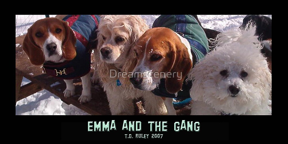 Emma and the Gang by Dreamscenery