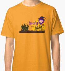 Halloween spooky and sweet witch night Classic T-Shirt