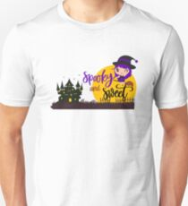 Halloween spooky and sweet witch night T-Shirt