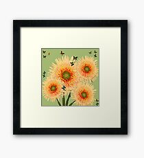 Butterfly Invasion Framed Print