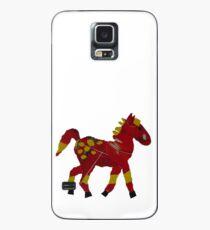 Red Dobbin Case/Skin for Samsung Galaxy