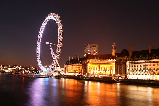 London Eye by david marshall