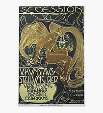 """Poster of the V. Kunstausstellung of the """"Association of Fine Artists of Austria Secession Koloman Moser Photographic Print"""