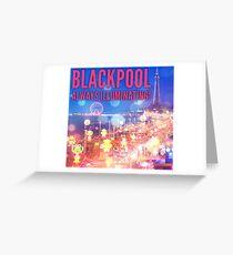 Blackpool Greeting Card