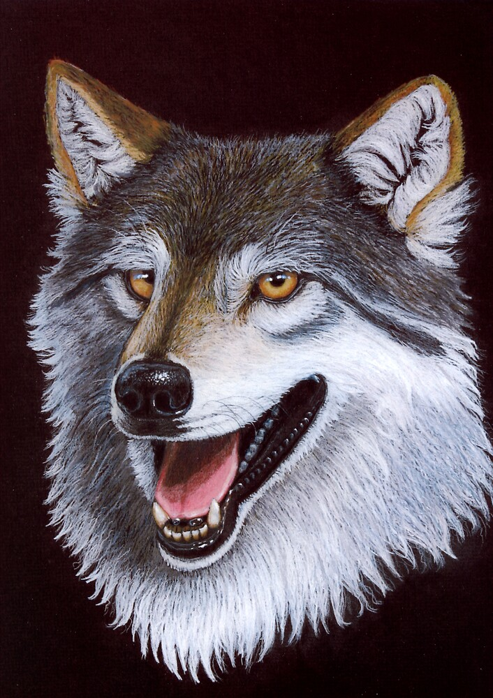 Noble Wolf by Lorraine Foster