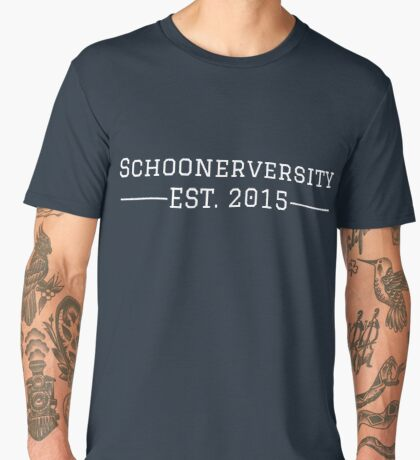 Schoonerversity - Est. 2015 (large) Men's Premium T-Shirt