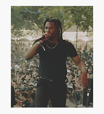 Denzel Curry Photographic Print