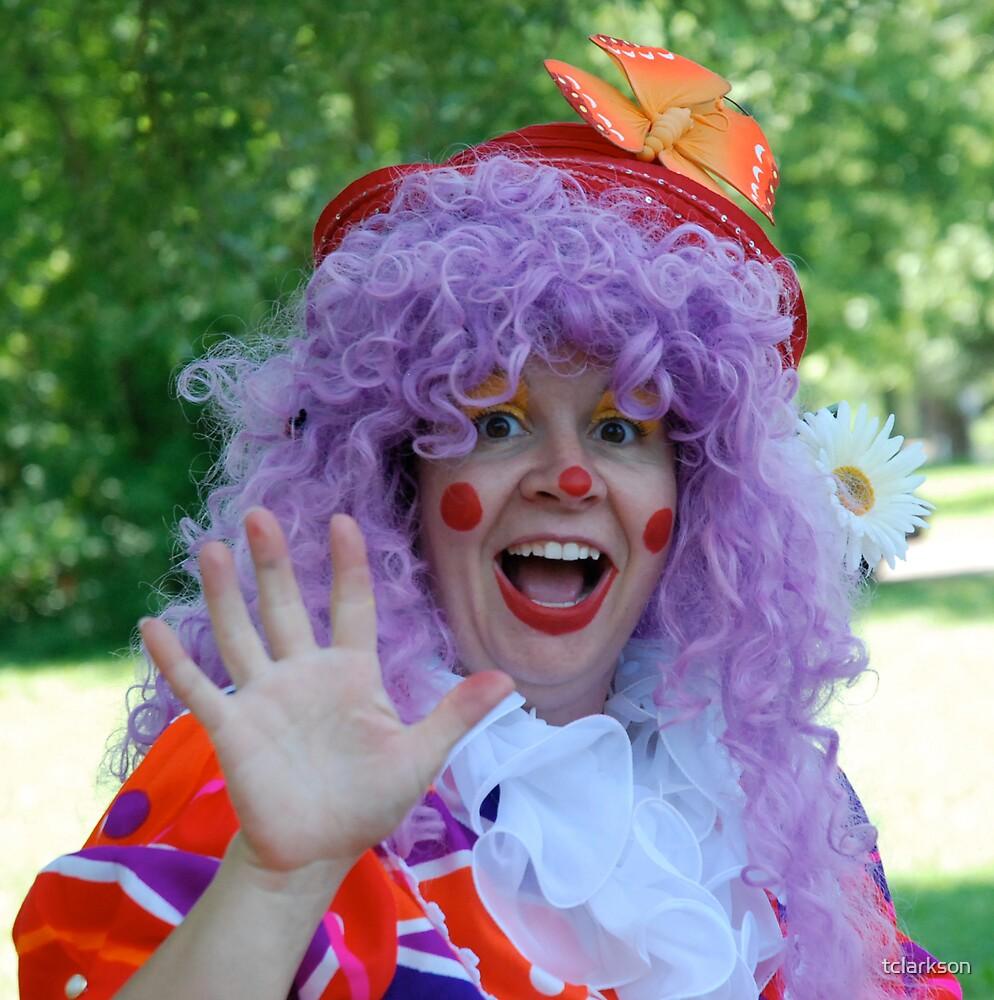oopsy daisy the clown by tclarkson