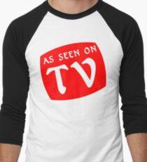 AS SEEN ON TV Funny Geek Nerd Men's Baseball ¾ T-Shirt