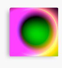 Green Eye Ball Canvas Print