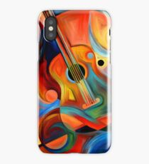 guitar painting iPhone Case/Skin