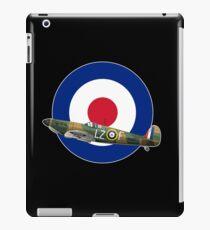 RAF SPITFIRE- BATTLE OF BRITAIN WW2 AIRCRAFT PLANE  iPad Case/Skin
