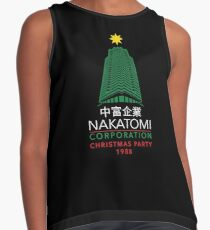 Nakatomi Corporation Christmas Party Tower Contrast Tank