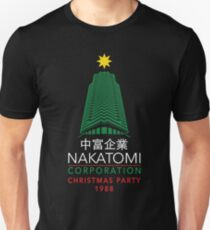 Nakatomi Corporation Christmas Party Tower Unisex T-Shirt