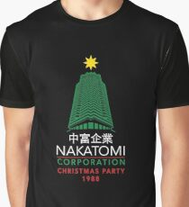 Nakatomi Corporation Christmas Party Tower Graphic T-Shirt