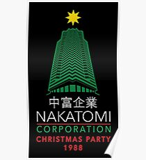Nakatomi Corporation Christmas Party Tower Poster