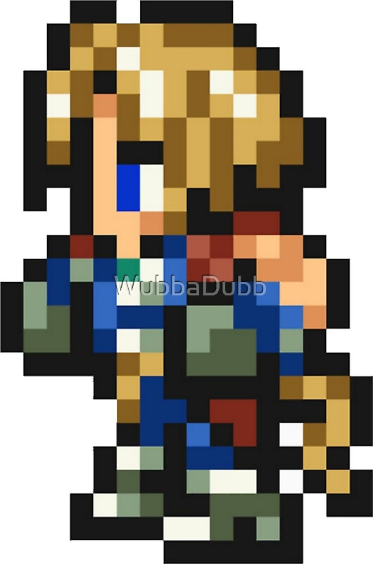Final Fantasy Ii Snes Pixel Art