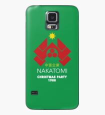 Nakatomi Corporation - Christmas Party Variant Case/Skin for Samsung Galaxy