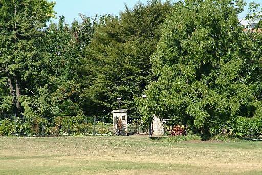 Garden gate to where? by Carol Smith