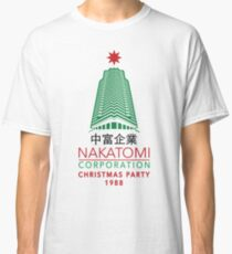 Nakatomi Corporation Christmas Party Tower Variant Classic T-Shirt