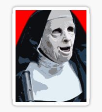 Nun bank robbers - The Town Sticker