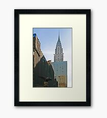 NYC-Crysler Building Framed Print