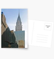 NYC-Crysler Building Postcards