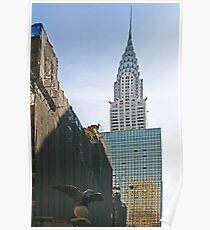NYC-Crysler Building Poster