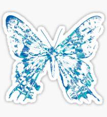 Fringe Butterfly Sticker