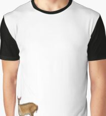 Doe in the Snow Graphic T-Shirt