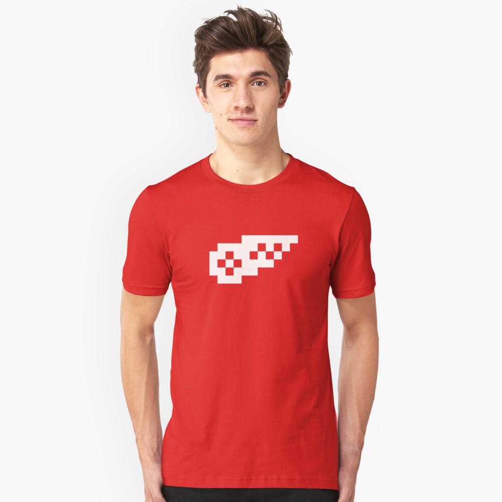 8-Bit Detroit Slim Fit T-Shirt