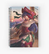 Hey ho! Spiral Notebook