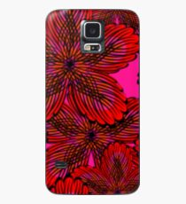 Flamenco Floral Case/Skin for Samsung Galaxy